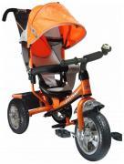 Трехколесный велосипед Funny Jaguar Lexus Racer Trike оранжевый