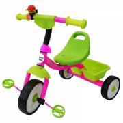 Super trike детский трёхколёсный велосипед, цвет / розовый-зеленый