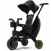 Складной велосипед Doona Liki Trike Limited Edition Midnight, черный