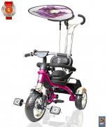 Трехколесный велосипед Lexus Trike 3-х колесный велосипед Grand Print Deluxe New Design 2014, колеса EVA, цвет – розовый