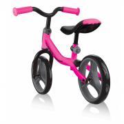Детские трехколесные велосипеды, самокаты с сиденьем и беговелы для малышей GLOBBER GO BIKE Цвет-Розовый