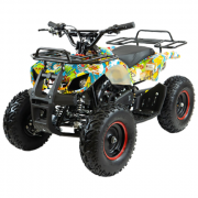 MOTAX Квадроцикл ATV Mini Grizlik Х-16 E-Start Big Wheel, бомбер