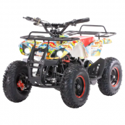 MOTAX Квадроцикл Mini Grizlik Х-16 Big Wheel 1000W, бомбер
