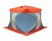 Палатка рыбака двухслойная Митек Нельма Куб-3 Люкс (УТ000047251)