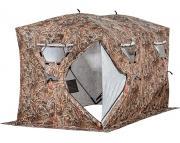 Палатка для зимней рыбалки HIGASHI Double Camo Comfort