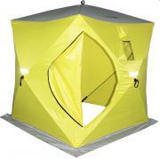 "Палатка 150х150х170см жел зимняя ""Сахалин-2"" желтый/серый 0054255"