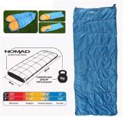 Спальный мешок COMFORTIKA NOMAD 190х80см (Молния: справа)