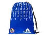 Adidas Мешок для кимоно Satin Carry Bag Karate WKF сине-белый Adidas