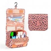 Дорожная сумка для туалетных принадлежностей (Розово-черный)