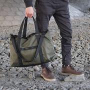 Спортивная сумка зеленая
