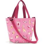 Сумка детская Reisenthel Shopper XS ABC friends pink IK3066, 21х31х16 см