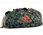 Сумка спортивная Combat Camo Bag L камуфляжно-оранжевая