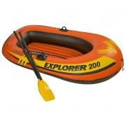 Лодка Intex Explorer 200 1,85 x 0,94 м orange