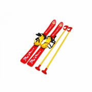 Лыжи ТехноК с палками детские 47*81*22,5 Т3350