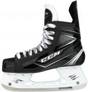 CCM Коньки хоккейные детские SK Ribcor 74K JR D, 2020-21, Черный, 35