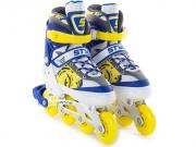 Коньки START UP Style р.S 31-34 Blue-Yellow