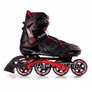 Роликовые коньки мужские BLACKWHEELS Race. Цвет: черный/красный, размер 43
