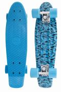 Скейт Atemi Penny Board APB-7.15 Black-Blue