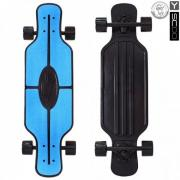 "Лонгборд Y-Scoo Fish Skateboard TIR 31"" blue/black"