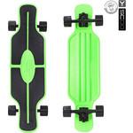 "Скейтборд RT 408-G Longboard Shark TIR 31"" пластик 79х22 с сумкой GREEN/black"