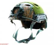 Каска Emerson Tactical Fast -PJ-Tactical Helmet Simple Version Digital Woodland