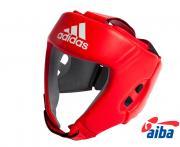 Шлем боксерский AIBA красный