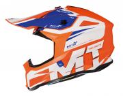 Шлем MT FALCON WESTON MX802 (XXL, Gloss Pearl Fluo Orange)