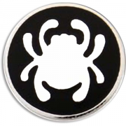 Значок Spyderco Bug SpyderLogo