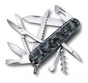 Нож многофункциональный Victorinox Huntsman 15 функций Черный