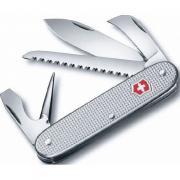 Нож перочинный Victorinox Pioneer 93 мм 7 функций алюминиевая рукоять серебристый