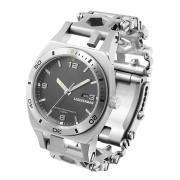 Часы - мультитул Leatherman Tread Tempo стальной