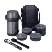 Термос Thermos JLS-1601 Food (1,6 литра), черный