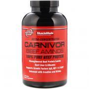 Аминокислоты Carnivor Beef, 100% чистый говяжий протеин, 300 таблеток