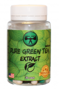 Энергетики Frog Tech, Pure Green Tea Extract, 30 капсул