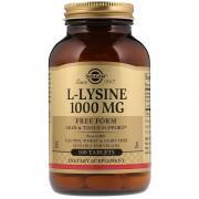 Solgar L-Lysine 1000 мг 100 табл (Solgar)