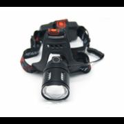 Фонарь налобный HL-2189-3-T6 теплый свет (Черный)