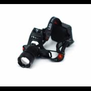 Налобный светодиодный аккумуляторный фонарь FA-009-P70 (Черный)