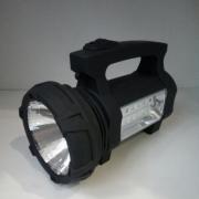 Ручной аккумуляторный фонарь SS-5918 светодиоды LED 1W и COB 3W