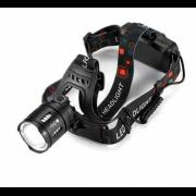 Налобный светодиодный аккумуляторный фонарь FA-T30-T50 (Черный)