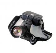 Налобный фонарь аккумуляторный FA-803-P50 (Черный)