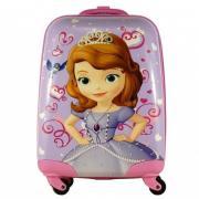 Чемодан детский Atma kids 508235 Princess Sofia