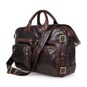 Сумка-рюкзак мужская кожаная Кошелькофф 7026BN коричневая