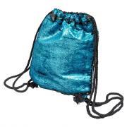 Рюкзак черно-бирюзовый PROMAKEUP