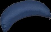 """Подушка для медитации Полумесяц, синяя """"Rajas"""" 40х14х8 см."""