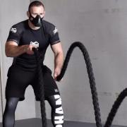 Спортивные очки и маски Анаэробная маска Phantom Training Mask 3.0, размер L на вес от 115 кг