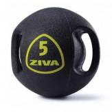 ZIVA Medball Набор из 5 набивных мячей с ручками 6-10 кг (шаг 1 кг)