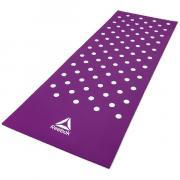 Коврик для йоги и фитнеса Reebok Белые Пятна 7 мм пурпурный RAMT-12235PL