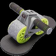 Ролик для пресса Xiaomi 7th AB Wheels Fitness Intelligent Automatic Rebound Roda Gym SX19SS-JS1104