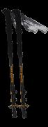Tramp палки треккинговые Zero Gravity (черный)