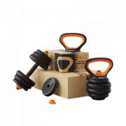 Спортивный набор для фитнеса Xiaomi Fed Home Fitness Multifunctional Dumbbell 10 kg (130210)